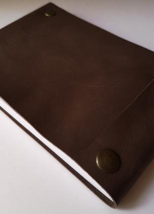 Блокнот из натуральной кожи ручной работы