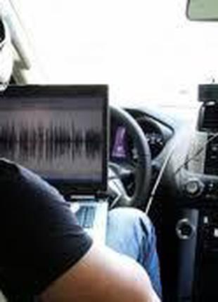 Наружное наблюдение за автомобилем.