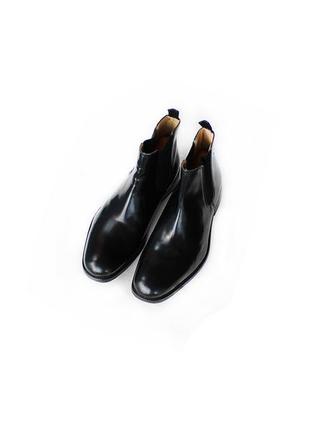 Кожаные ботинки челси ms англия