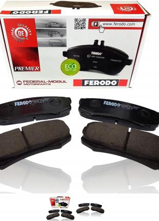 Колодки тормозные пер ВАЗ 2108-2115 FERODO FDB527