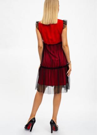 Платье женское фатин