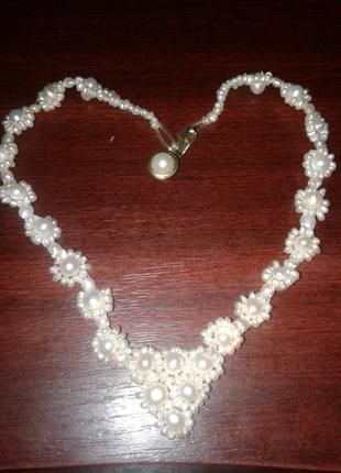 Жемчужное ожерелье, 35 см
