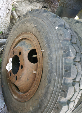Резина, шины, покрышки на газ 53