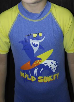 Детский комбинезон солнцезащитный костюм акула бассейн плаванье