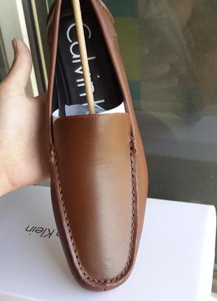 Calvin klein  оригинал   кожаные  туфли