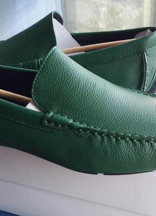Calvin klein оригинал   кожаные туфли kaleb