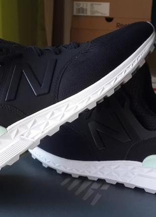 New balance оригинал   черные кроссовки