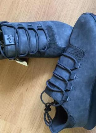 Adidas tubular оригинал   новые кожаные кроссовки