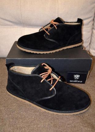 Ugg оригинал 51 ст.33.5 см. новые кожаные ботинки maksim chukk...