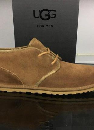 Ugg оригинал 50 ст.33 см. новые кожаные ботинки maksim chukka ...