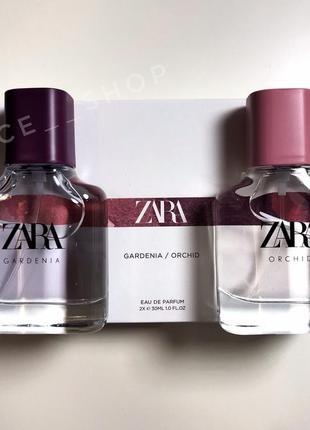 Zara orchid gardenia духи парфюмерия туалетная вода оригинал...