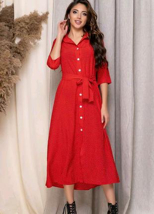 🤩😘😘😘🤩😘😘😘🤩 Женское платье Батал  Размеры: 2-52-54 3-54-56