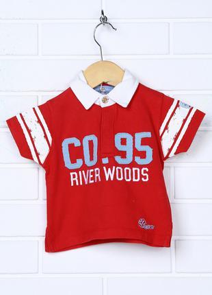 Детское поло River Woods , тенниска, футболка, на 3-6 мес, новое