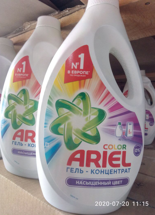 Ариель гель-концетрат жидкий порошок