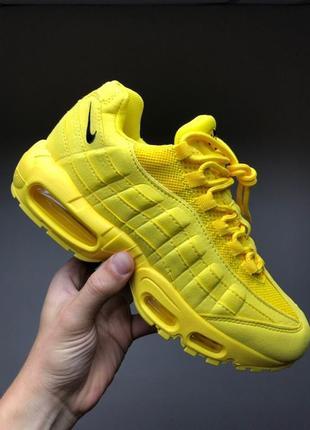 """Супер кроссовки 💪 nike air max 95 """"yellow""""  💪"""