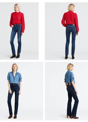 Женские джинсы Levis 724 High Rise Straight Women's Jeans Леви...