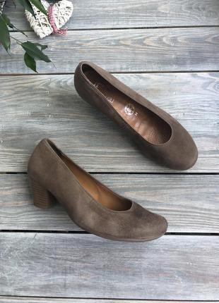 Jenny by ara замшевые туфли на удобном каблуке
