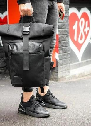 Роллтоп городской рюкзак мужской