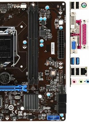 Комплект Intel Core i7-4790S + MSI B85M-P33 V2 s1150 SATA3 USB3