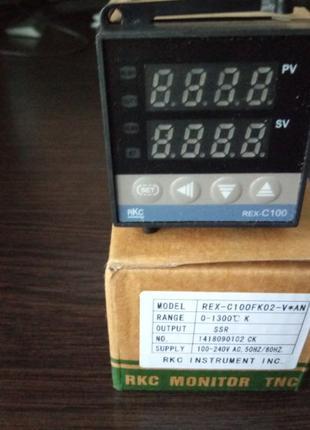 Термостат ПИД Рекс REX - c100 терморегулятор под твердотельное...