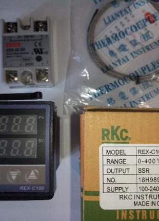 REX-C100 Контроллер температуры ПИД-контроллер