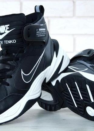 Крутые мужские зимние кроссовки \ ботинки найк nike m2k tekno ...
