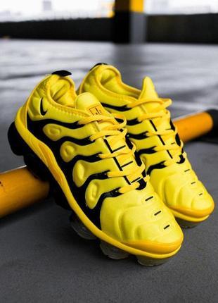 Хайповые кросовки 💪nike air vapormax plus yellow 💪