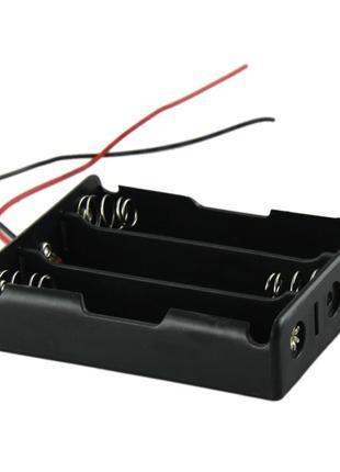 Батарейный отсек на 3 аккумулятора Li-Ion 18650 бокс держатель хо