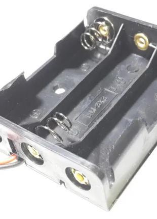 Отсек на 3 аккумулятора (батарейки) АА 14500 бокс холдер