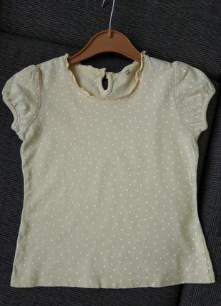 Фирменная футболка george для девочки 4-5-лет