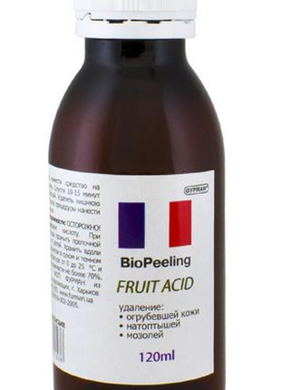Биогель пилинг на фруктовой кислоте 120 мл для маникюра и педикюр