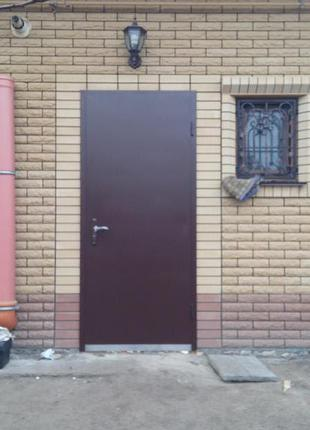 Дверь входная OPTIMAL-1 (заказная, под размер)