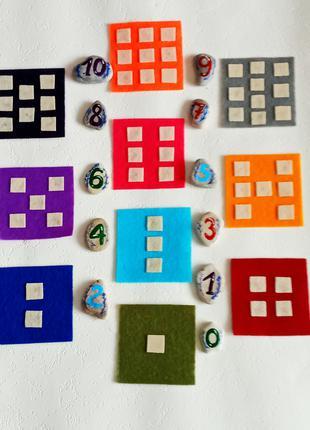 Развивающая игра для детей «Веселая математика»
