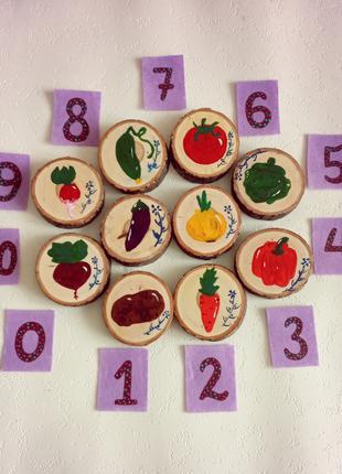 Развивающая игра для детей «Овощи-фрукты-ягоды»