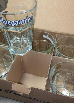 Бокалы 0,5 л Хугарден Hoegaarden 6шт. Упаковка