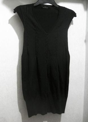 Платье мини isabell kristensen couture чёрное облегающее футля...