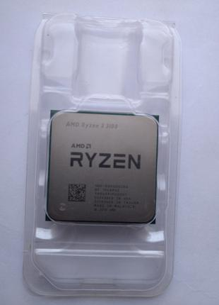 Процессор AMD Ryzen 3 3100 4 ядра 8 потоков 3,6 GHz 7nm Matisse