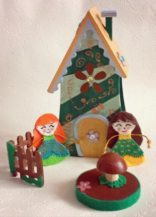 Игрушка для девочек «Веселый домик»