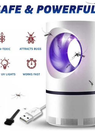 Лампа от комаров, Низковольтная лампа-убийца от комаров USB UV