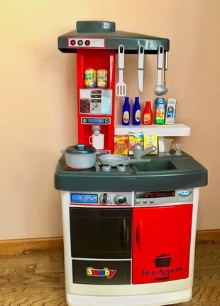 Детская кухня с холодильником и духовкой