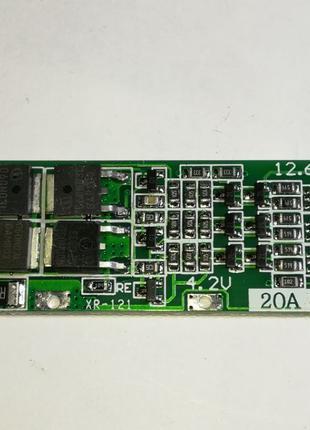 BMS Контроллер 3S Li-Ion 18650 12.6V 20A