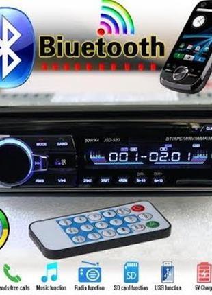 Мощная Автомагнитола с чистым звуком JSD-520BT С USB И BLUETOOTH