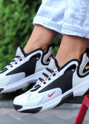 Nike zoom 2k 🆕 женские кроссовки найк зум 🆕 черный/белый/красный