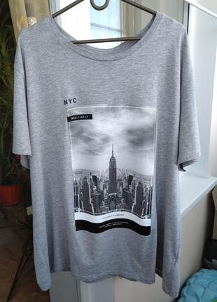 Мужская футболка h&m nyc