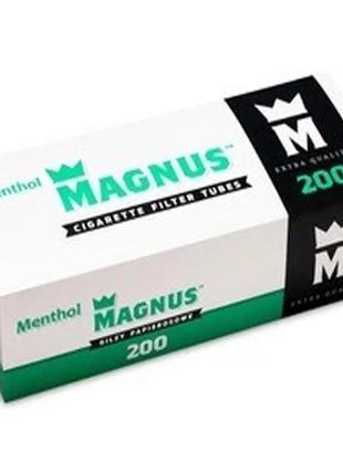 Гильзы для набивки сигарет Magnus Ментол 200 штук