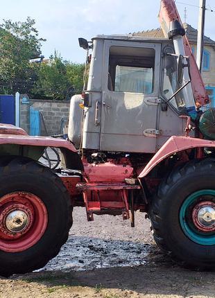 Трактор Т-150к + плуг в работчем состоянии, двигатель ЯМЗ 238.