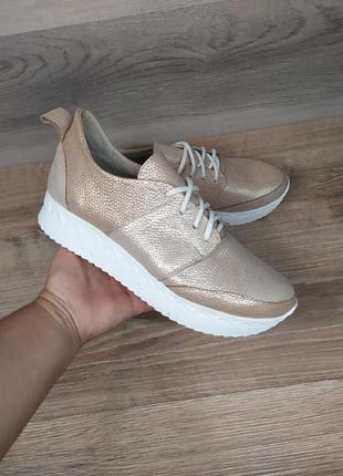 Кожаные кроссовки , 37 39 40 41 размера , натуральная кожа
