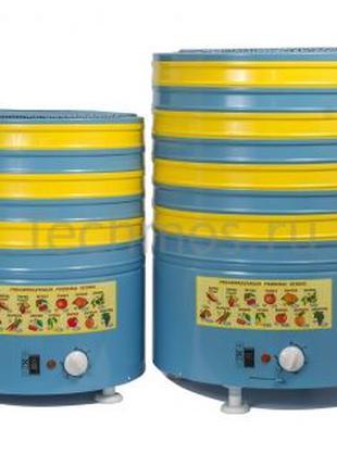 Сушилка для овощей Элвин СУ-1 6-8 стальных поддонов с нижним о...
