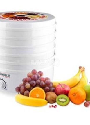 Сушилка для овощей и фруктов GRUNHELM BY1162 пост.опт и в розн...