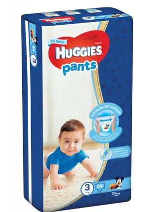 Подгузники Huggies pants  3, 44шт.